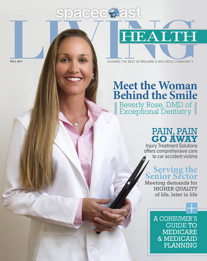 Space Coast Living Health Fall 2011 cover Dr. Rose